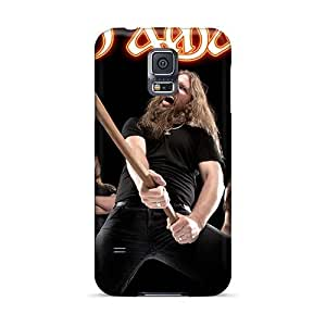 Scratch Protection Hard Cell-phone Cases For Samsung Galaxy S5 (Dsn1056OZHA) Provide Private Custom Fashion Amon Amarth Band Pattern