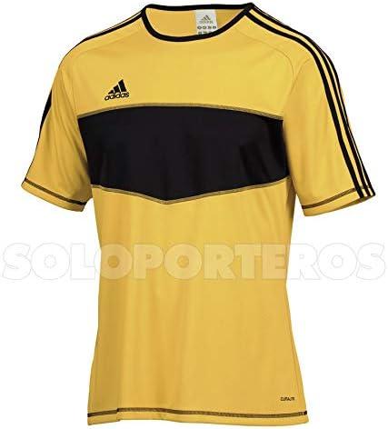 adidas Entrada, Camiseta, Amarilla-Negra, Talla 120 - XXXS: Amazon.es: Deportes y aire libre