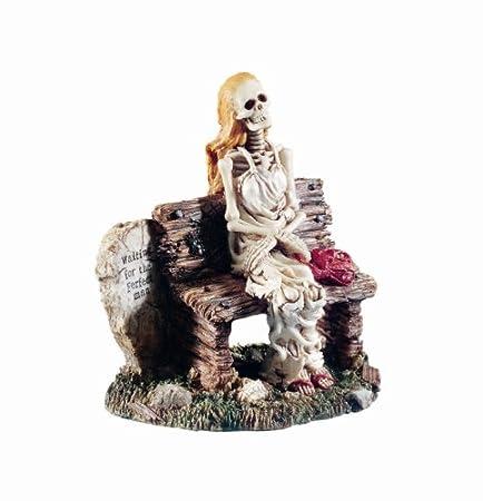 Waiting for perfect man skeleton