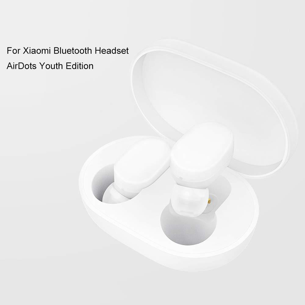for Xiaomi Auriculares Bluetooth, Auriculares estéreo Xiaomi Airdots Bluetooth V5.0, Encendido/Apagado automático, Llamadas binaurales, Auriculares HiFi con ...