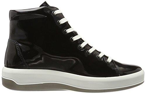 ECCO Soft 9, Sneaker a Collo Alto Donna Nero (Black)