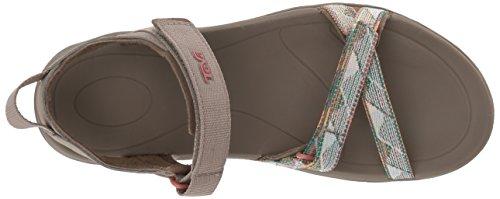 Teva Verra - Sandalias de Vestir de Material Sintético Para Mujer Suri Taupe Multi