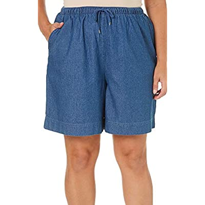 Coral Bay Plus The Everyday Pull On Drawstring Shorts | Amazon.com