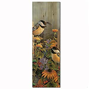 WGI Gallery WA-LCHK-412 Linda's Chickadees Wall Art