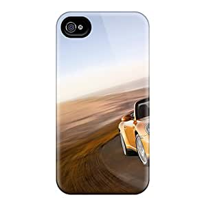 Cometomecovers Shockproof Scratcheproof 2008 Porsche 911 Carrera 4 Cabriolet Hard Cases Covers For Iphone 4/4s
