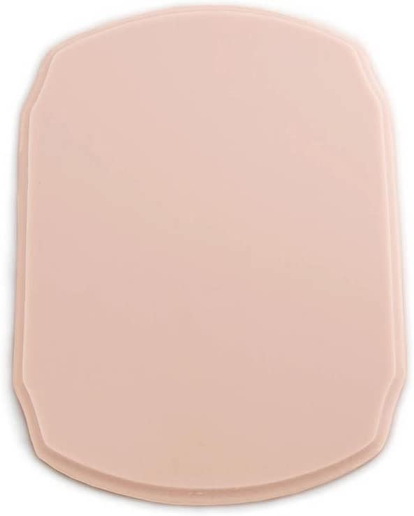 A Pound of Flesh Tattooable Rounded Plaque /— Pink Tone