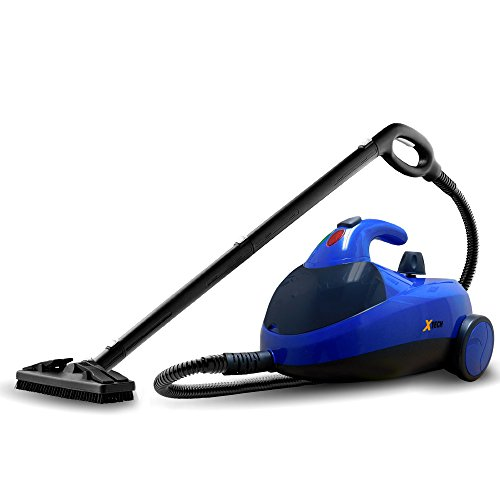 Big Save! Xtech XHSC-200 Heavy-Duty 1500watts 50 oz. Canister Steam Cleaner with 13 Assorted Attachm...