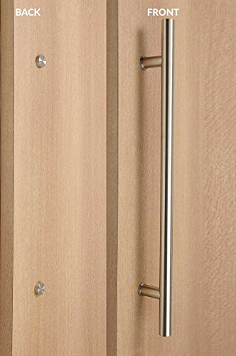 - STRONGAR Modern & Contemporary Ladder Style/One Single Sided/DECORATIVE Fixing/Door Pull Handle/Stainless Steel/Commercial/Residential/1219mm/48 inches - Brushed Satin Finish