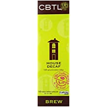 CBTL House Brew DECAF Coffee Capsules By The Coffee Bean & Tea Leaf, 10-Count Box