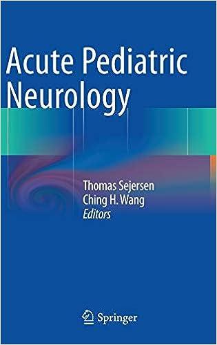 Acute Pediatric Neurology: 9780857294906: Medicine & Health Science
