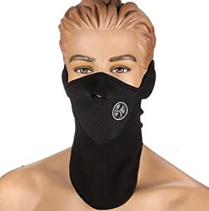 Neopren Waermehaltungsmaske fuer Hals Gesicht Maske Mundschutz Schleier Fuer...