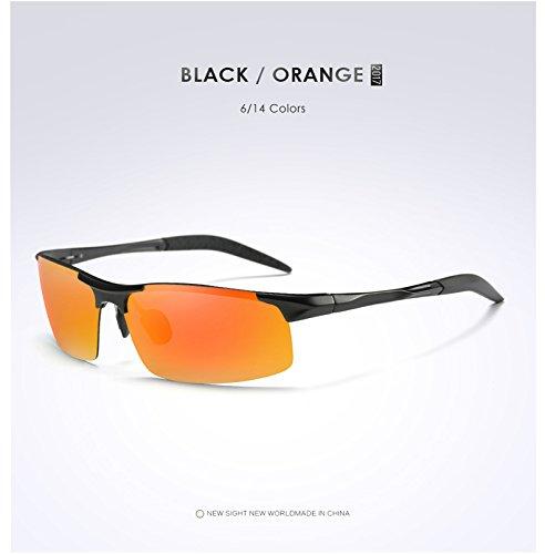 UV400 Polarizadas De Sol Blackframeblue Multicolor Gafas Star UV Protección Opcional Hombres para blackframered Ciclismo De Gafas qSv0wF