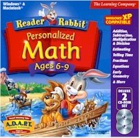 Reader Rabbit Per Math 6-9 Dlx 2CD Jc