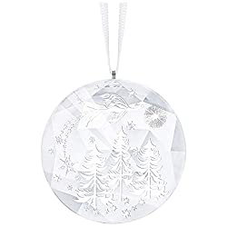 Crystal Winter Night Ornament