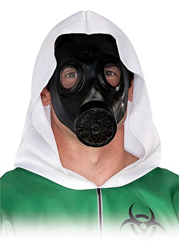 Scary Gas Mask Halloween Costume (Gas Mask Adult Accessory)