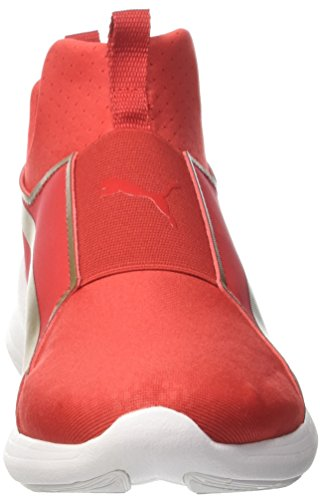 02 High Basses Sneakers Risk Puma Summer Gold puma Mid Team Rouge Red Femme WNS Rebel xW88qSwX16