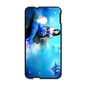 Anime Mermaid HTC One M7 Cell Phone Case Black A2Q7DY