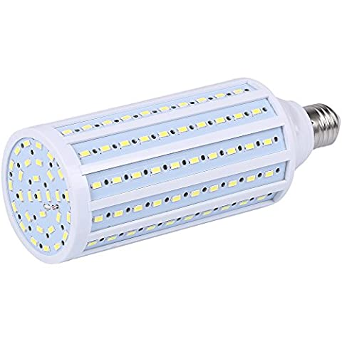 JacobsParts LED Corn Light Bulb 26W / 175W Equivalent 2800lm 150-Chip E26 Cool Daylight White 6000K - Screw In Led Bulbs