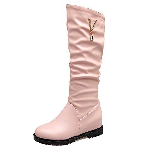 COOLCEPT Botas de Cuna Interior para Mujer Pink-1