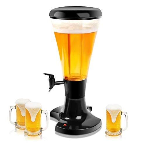 Beer Dispenser with LED Lights 3L Tower by Sunil