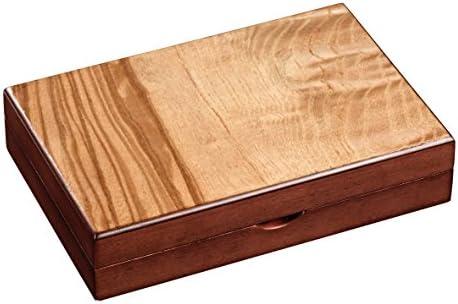 Kartenbox mit Würfel und Magnetverschluss Philos Rommé 6656