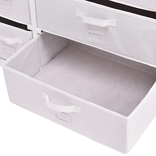 Costzon Baby Changing Table Infant Diaper Nursery Station w/6 Basket Storage Drawers (White) by Costzon (Image #5)