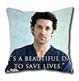 iCustomonline Grey's Anatomy Standard Size Design Square Pillowcase in 40*40CM/16*16Inch
