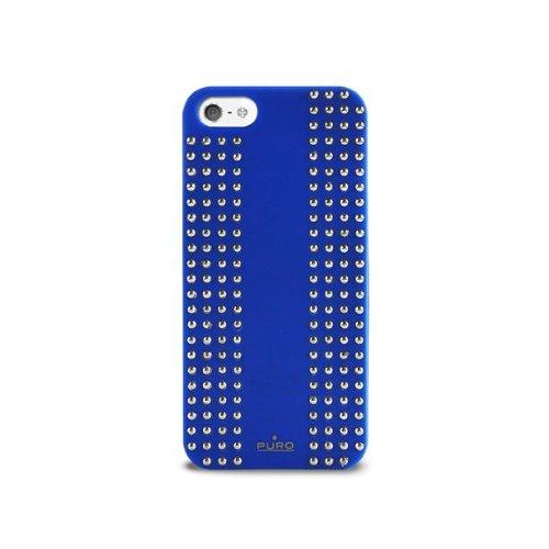 Puro 006366 Back Case - Rock - Apple iPhone 5/5S/5SE - Blau