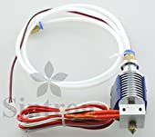 [Sintron] 3D Priner All Metal J-Head V6 Bowden Hot End 0.4mm Nozzle with Cooling Fan for RepRap 3D Printer MakerBot, Rostock, Kossel, and Prusa i3 1.75mm Filament Direct Feed Extruder 12V
