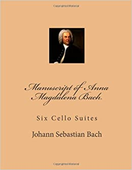 Amazon manuscript of anna magdalena bach six cello suites manuscript of anna magdalena bach six cello suites 995 free shipping fandeluxe Images