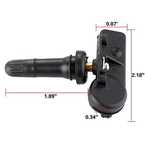 OCPTY Motorcraft Tire Pressure Sensor TPMS for Selsct Ford Lincoln Mercury 315MHz DE8T-1A180-AA 9L3Z1A189A 102069-5209-1513357781