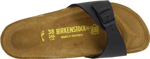Birkenstock Madrid Black Womens Sandals Black