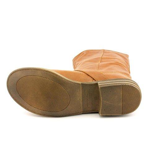 American Rag Womens Kandic Almond Toe Mid-Calf Fashion Boots Brown pMIblAWF6s