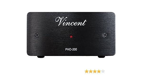 Vincent PHO-200 - Preamplificador (MM/MC), color plata: Amazon.es ...