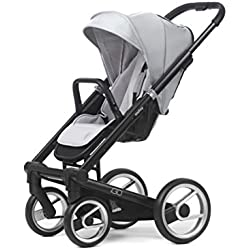 Mutsy Igo Lite Stroller, Black/Silver