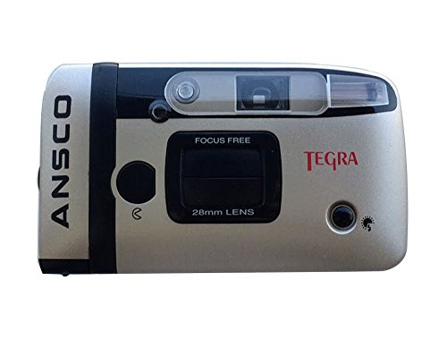 Ansco Tegra 35mm Film Camera Compact Point & Shoot Flash Panorama Focus Free Vintage by Ansco