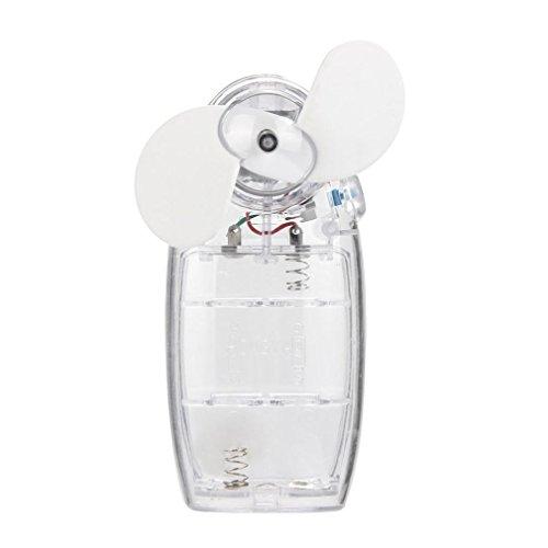 Oyedens Minihand Kühler Batterie Ventilator, White