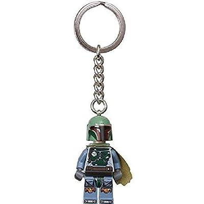 LEGO Star Wars: Boba Fett Keychain: Toys & Games