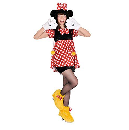 Disney's Minnie Mouse -Pullover Costume - Teen/Women's -
