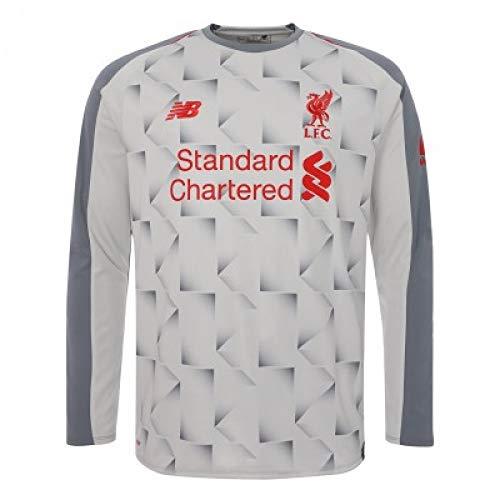 (New Balance 2018-2019 Liverpool Third Long Sleeve Football Soccer T-Shirt Jersey)