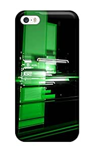 Jalik Davis FycxTHr17741ysKjB Case For Iphone 5/5s With Nice Digital Green Appearance