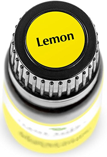Lemon Essential Oil (Cold Pressed). 10 ml. 100% Pure, Undiluted, Therapeutic Grade.