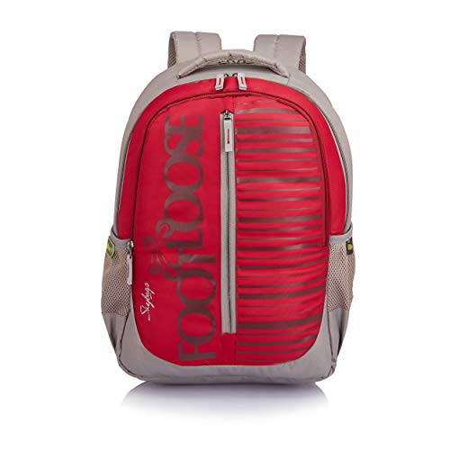 Skybags Vough 33 Ltrs Red Laptop Backpack (LPBPVOGERED)