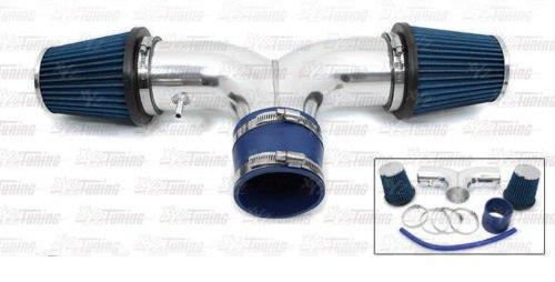 04 05 06 07 Dodge Durango 3.7L & 4.7L Dual Twin AIR INTAKE + Blue Filter SRDDG7B