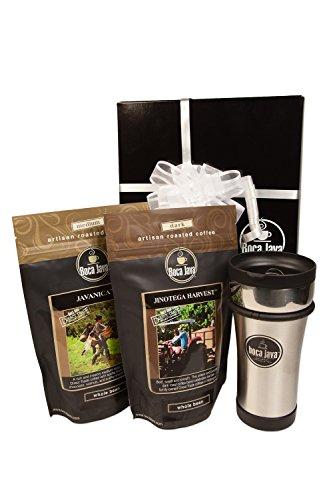 Boca Java Roast to Order Coffee, Direct Trade Coffee Gift Set - Ground Coffee ()
