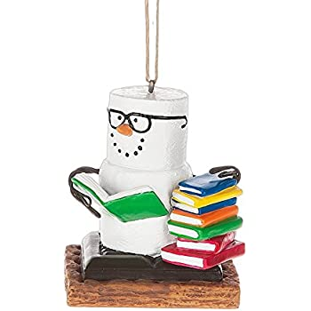 Amazoncom 1 X School Book Stack Ornament Home  Kitchen