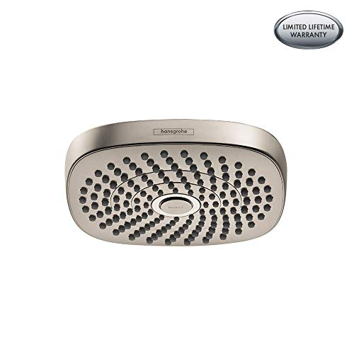 Hansgrohe 26528821 Croma Showerhead 2.0 gallons per minute Brushed Nickel