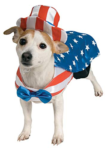 (Rubie's Uncle Sam Pet Costume,)