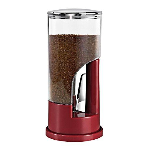 Zevro KCH-06078 Indispensable Coffee Dispenser, Red - 1/2 Pound