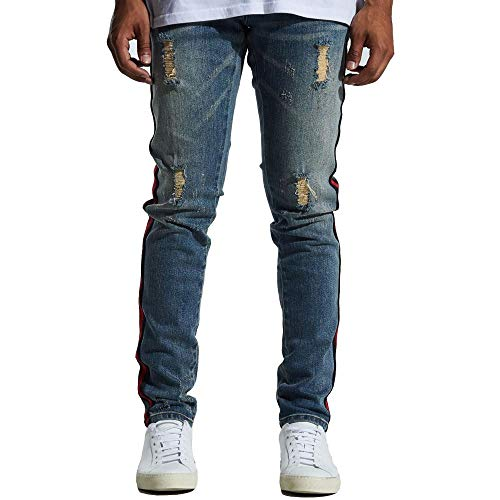 Denim Embellish Pablo Blue In Jeans Rx5xgvY